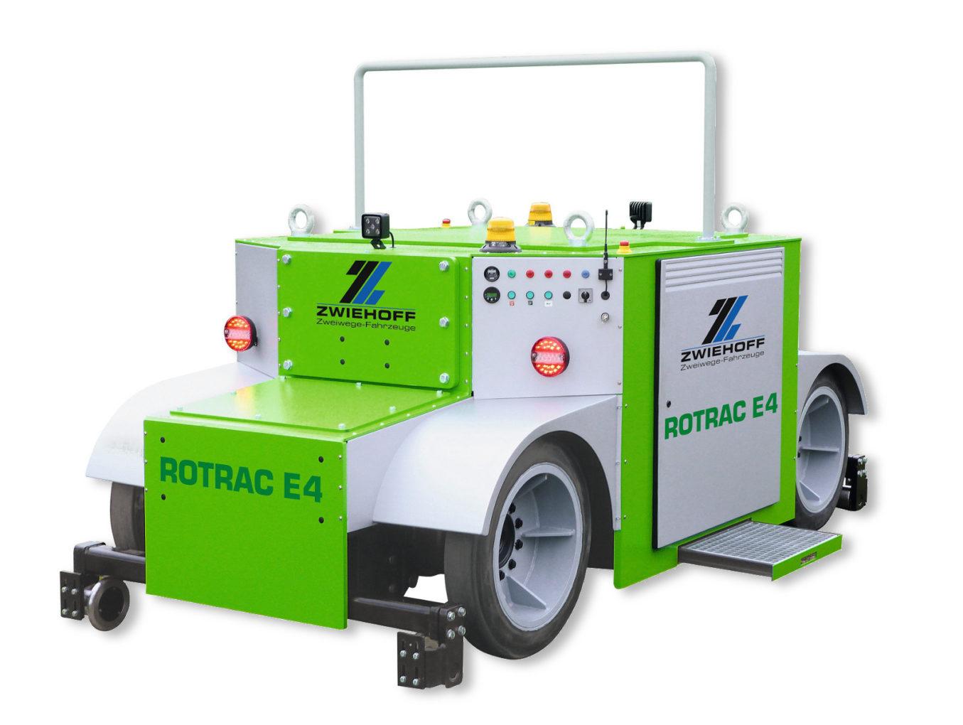ROTRAC E4 Электро-тяговый модуль вагонов