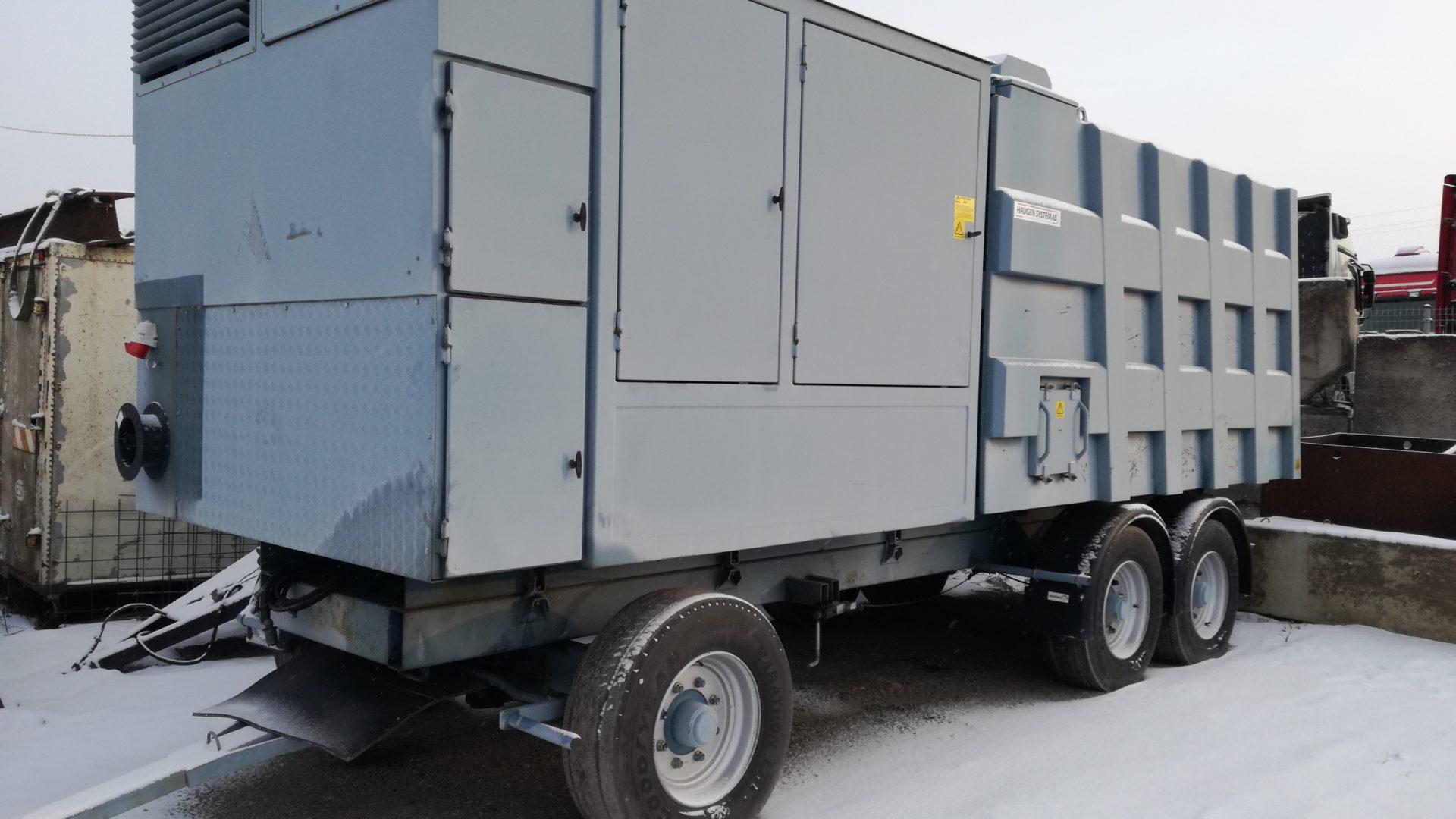 Вакуумний навантажувач SDT-20T