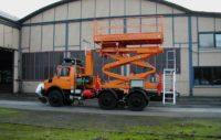 U1650 Dreiachser + Hubarbeitsbühne