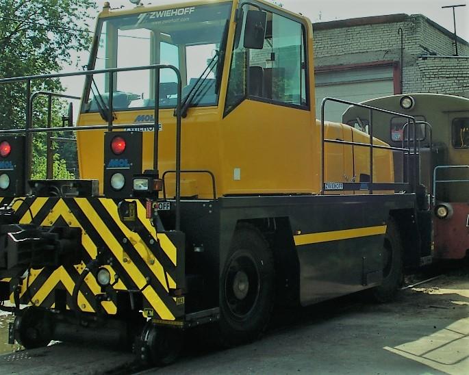 Маневровый локомобиль ROTRAC RR20 колея 1520 мм. 2013 г., новый