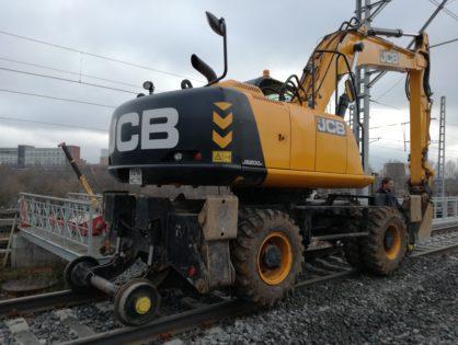 JCB 200 на комбинированном ходу, 1520мм